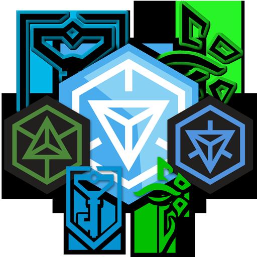 image gallery of ingress logo vector